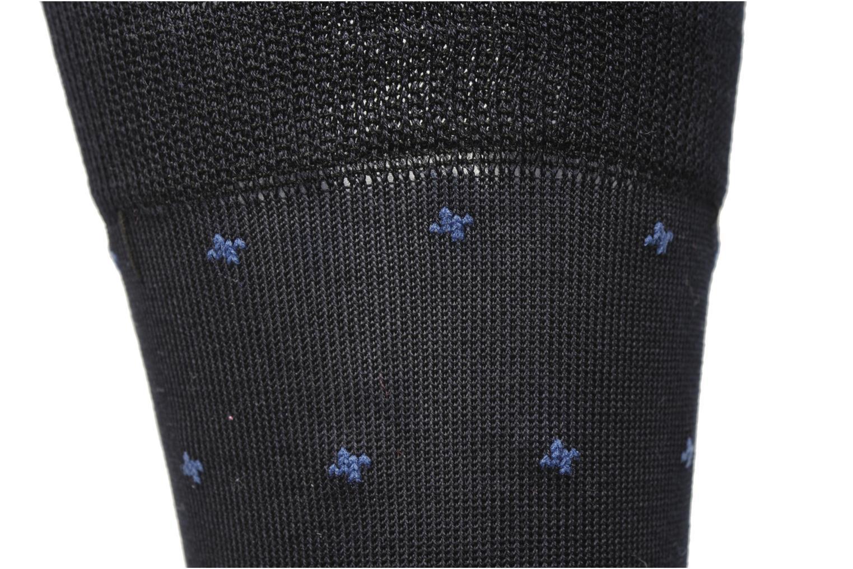 Chaussettes Petist Careaux Coton Bleunoiranthracite