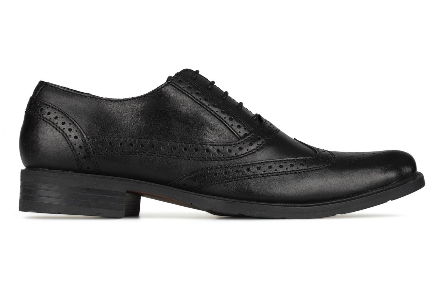 Lace-up shoes Hush Puppies Eastfield Black back view