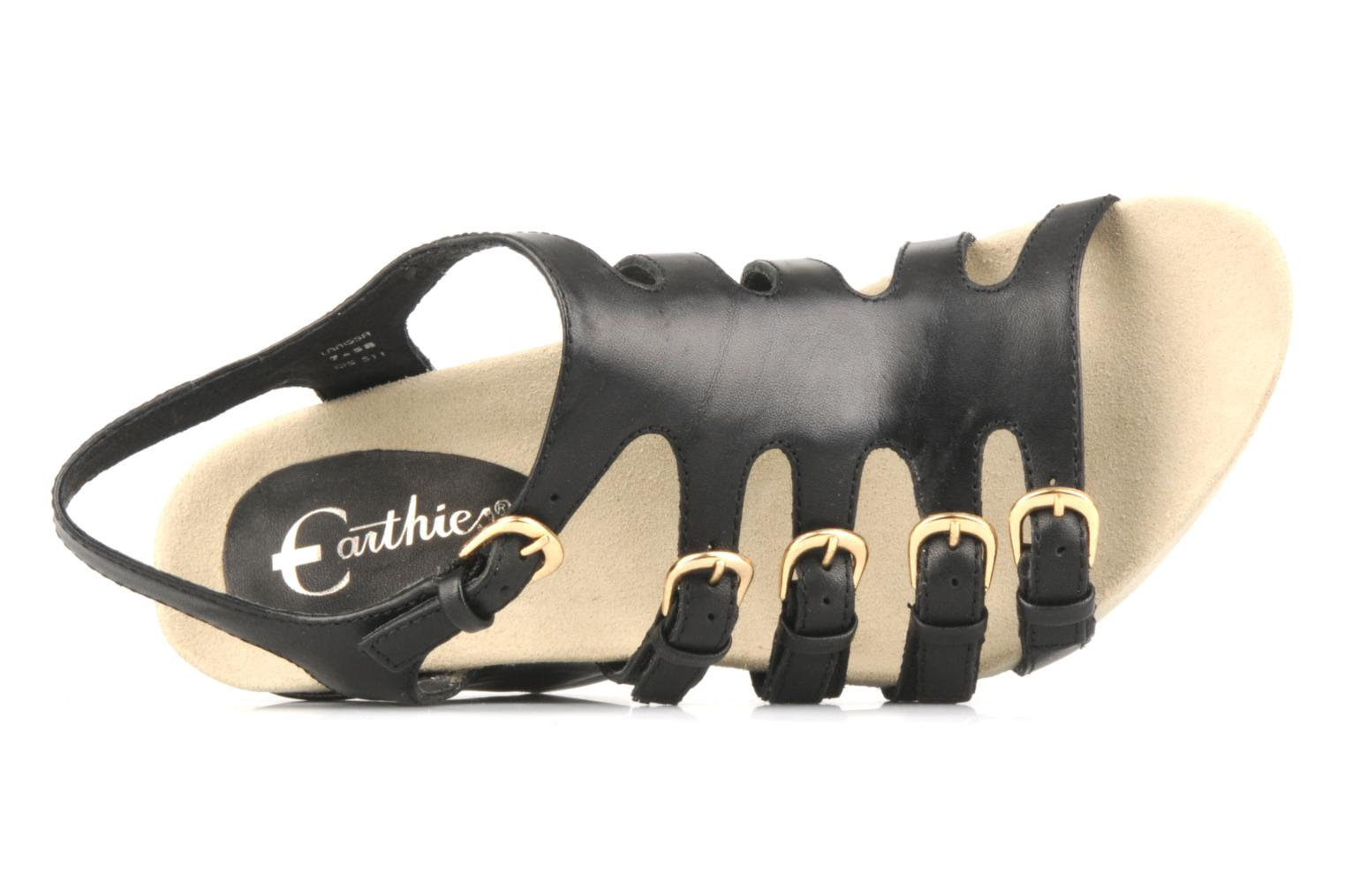 Sandalen Kalso Earth Larissa Zwart links