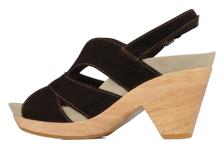 Sandales et nu-pieds Kalso Earth Monaco Marron vue face