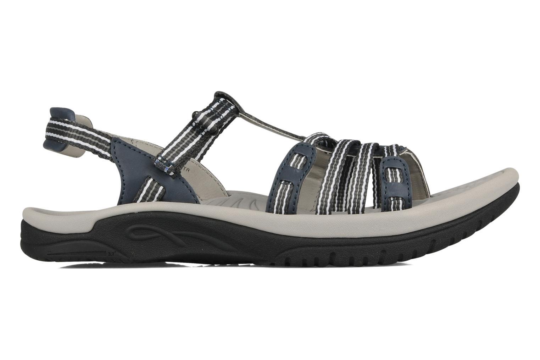 Sandales et nu-pieds Kalso Earth Puerta Gris vue derrière