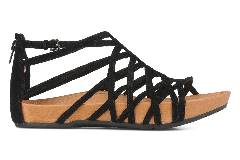 Sandales et nu-pieds Kalso Earth Exquisite Noir vue derrière