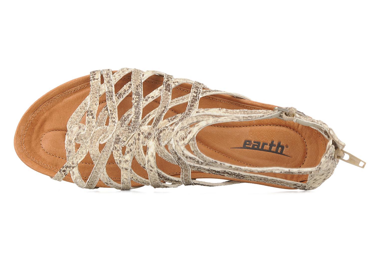 Sandali e scarpe aperte Kalso Earth Exquisite Beige immagine sinistra