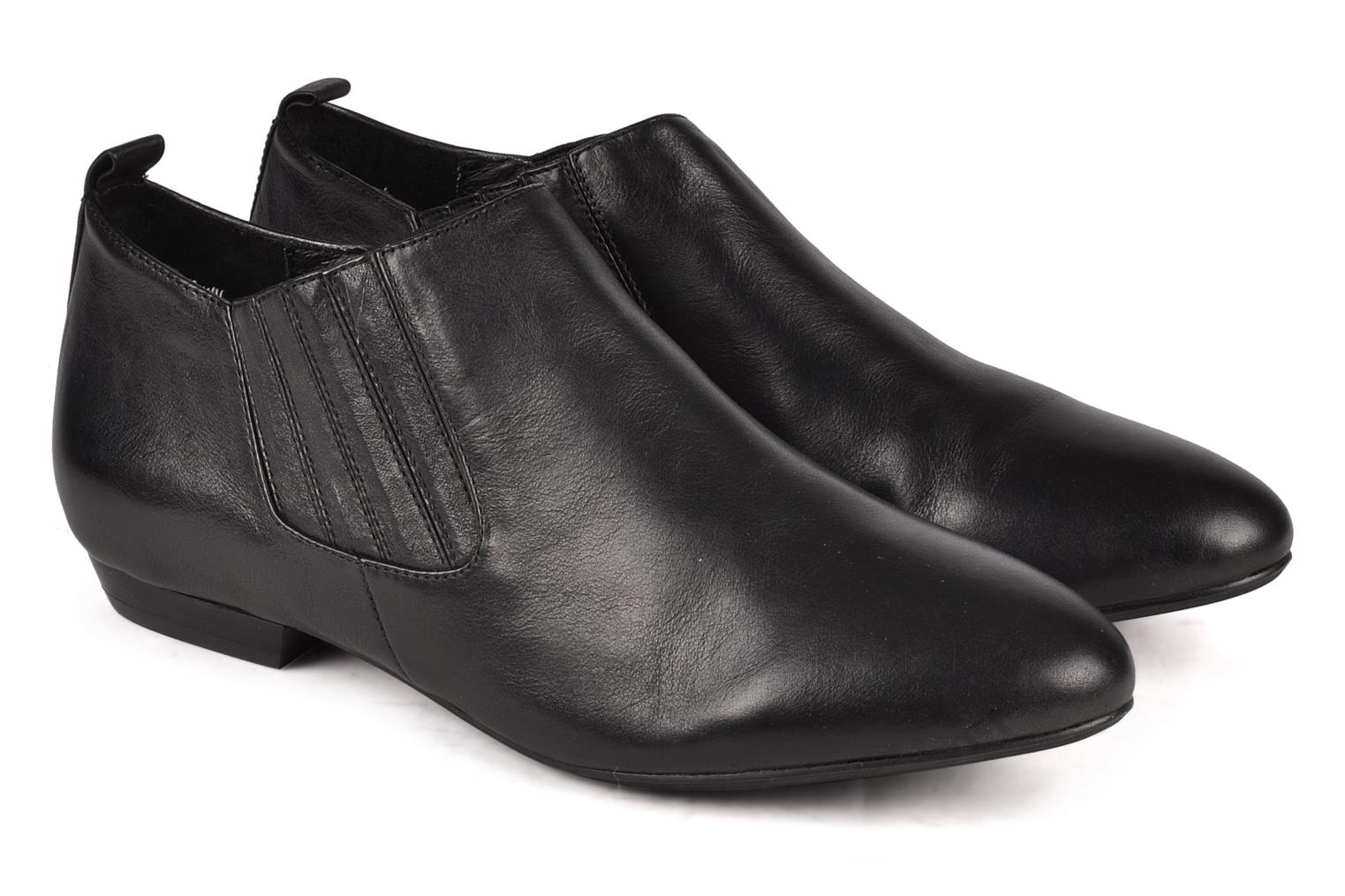 Ankle boots Buffalo Selia Black 3/4 view