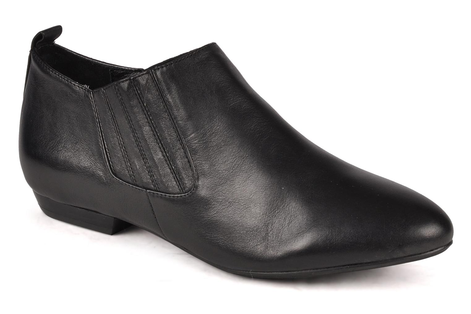 Ankle boots Buffalo Selia Black detailed view/ Pair view