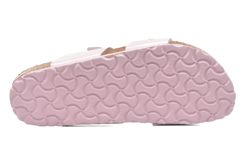 Clogs & Pantoletten Birkenstock Sydney Flor W rosa ansicht von oben