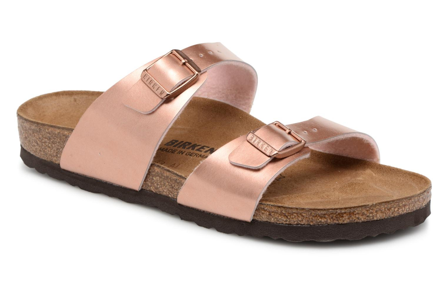 Newest Birkenstock Sydney Flor W Pink Womens Mules & Clogs Outlet UK1133