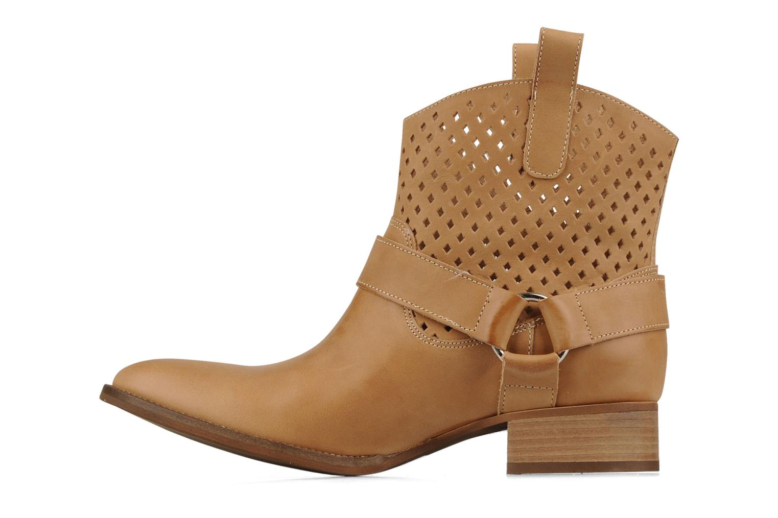 Ankle boots San Marina Alems Beige front view