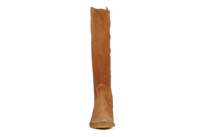 Stiefel Free Lance Wallis 7 hi botte gold/bronze schuhe getragen