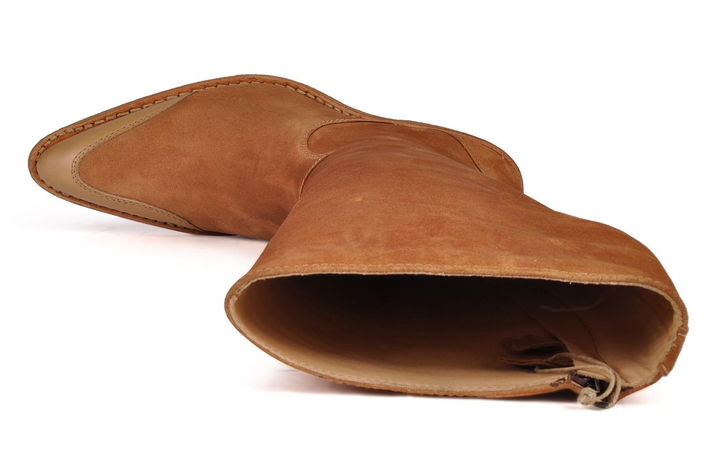Stiefel Free Lance Wallis 7 hi botte gold/bronze ansicht von links