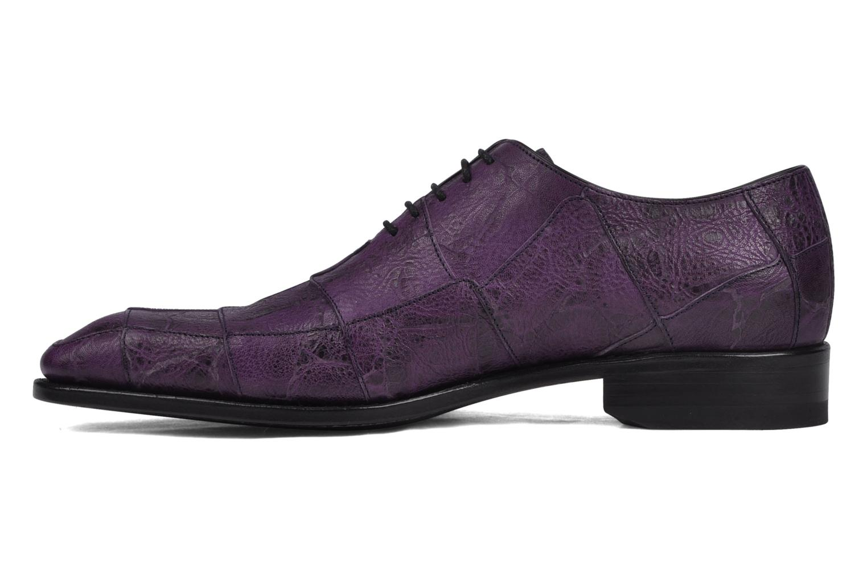 Kily patch richelieu croco Corex violet