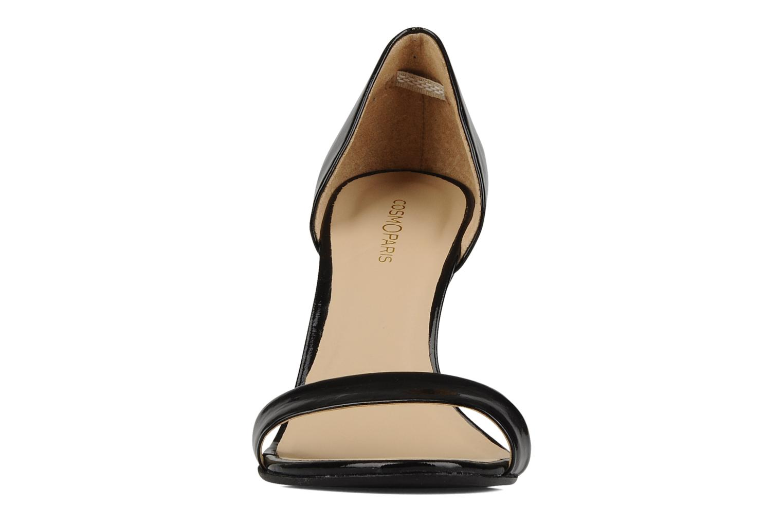 Sandales et nu-pieds COSMOPARIS Lolla Noir vue portées chaussures