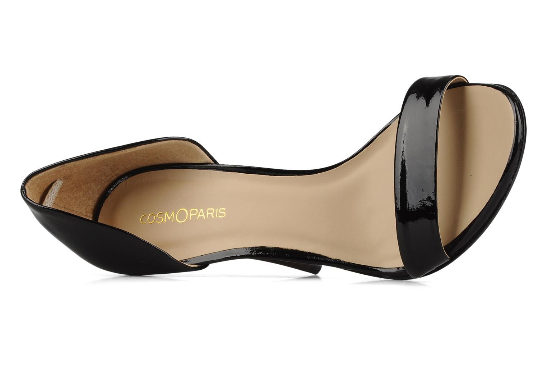 Sandales et nu-pieds COSMOPARIS Lolla Noir vue gauche