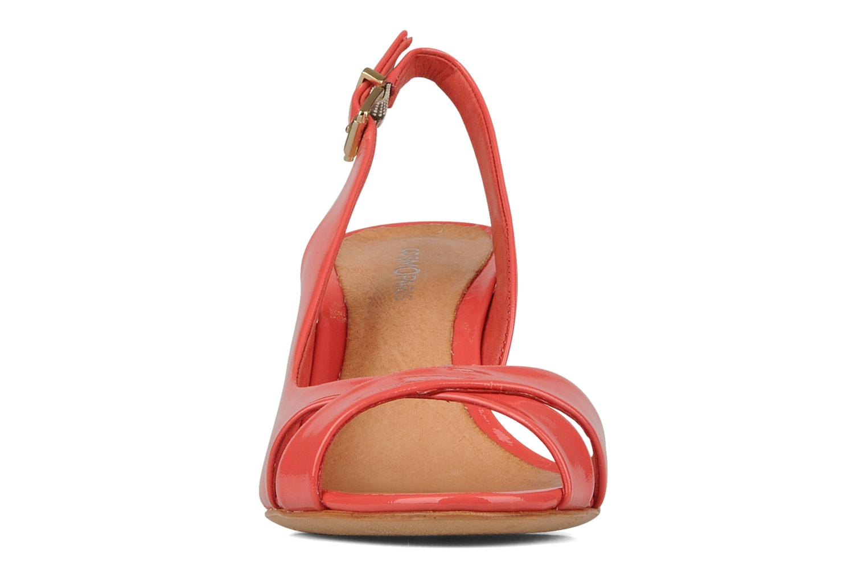 Sandalen COSMOPARIS Amaryllis rosa schuhe getragen