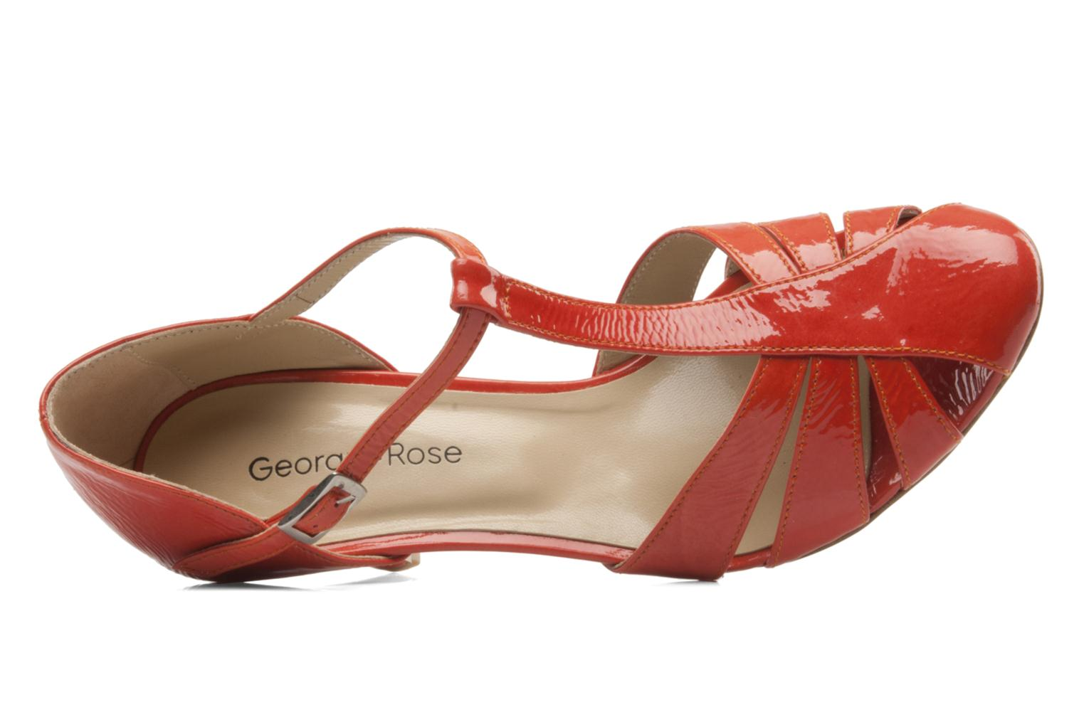 Pumps Georgia Rose Vareo orange ansicht von links