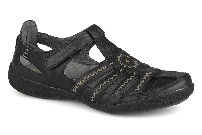 Sandales et nu-pieds Allrounder by Mephisto Galina Noir vue détail/paire