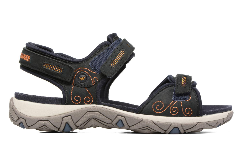 Chaussures de sport Allrounder by Mephisto Lagoona Noir vue derrière