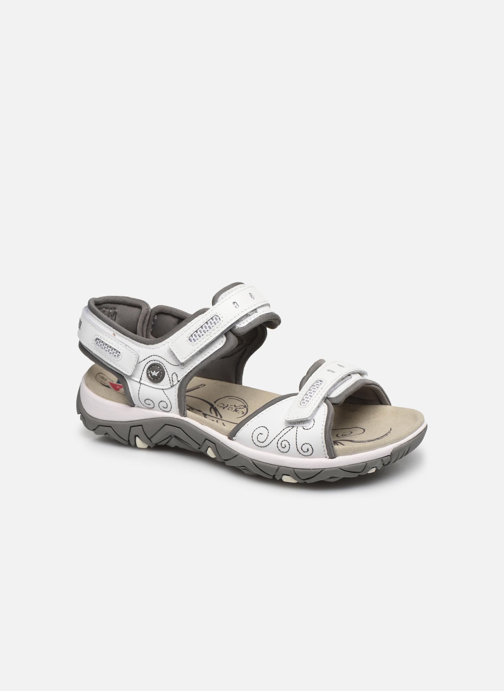 Chaussures de sport Allrounder by Mephisto Lagoona Blanc vue détail/paire