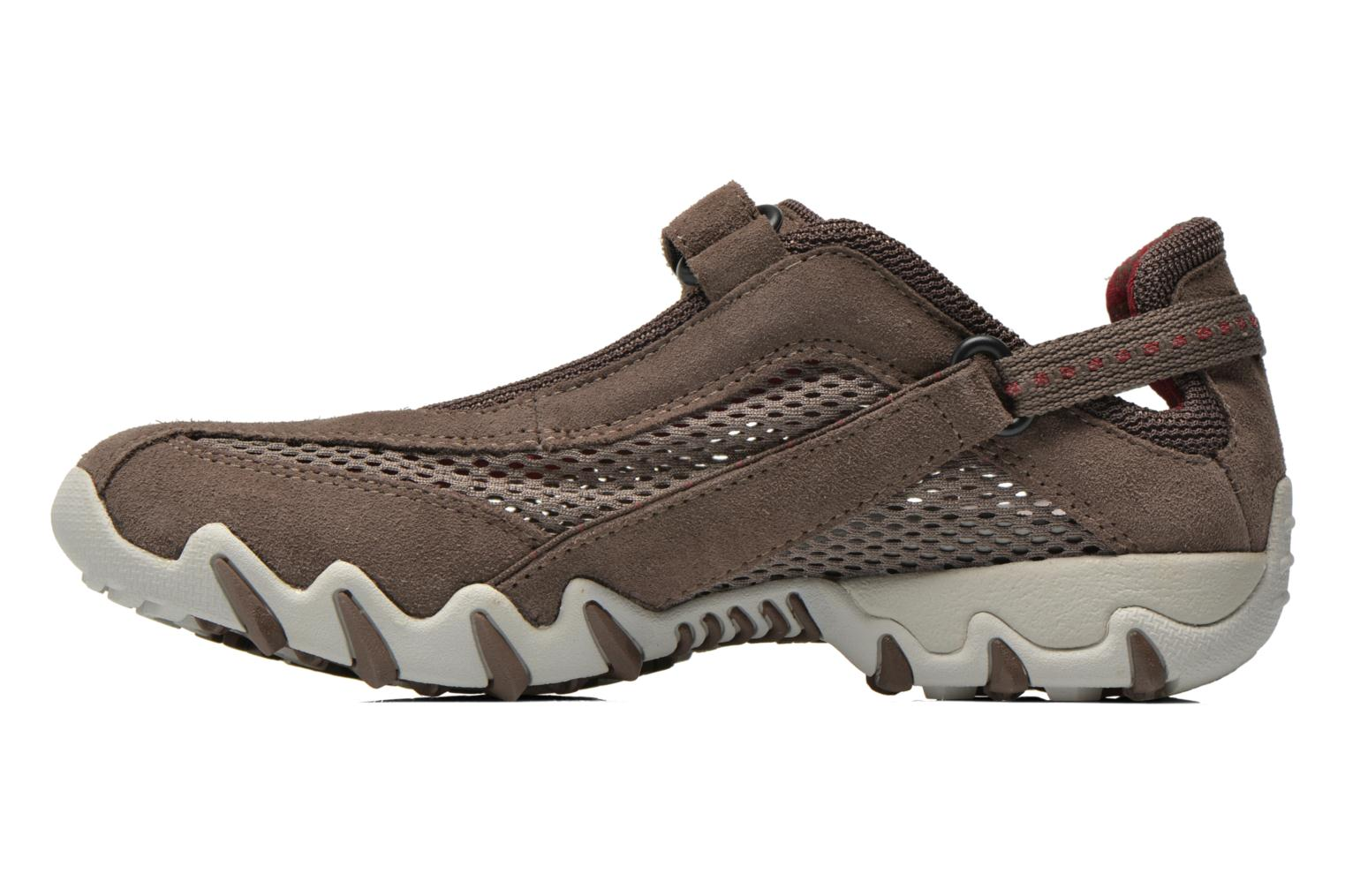 Sport shoes Allrounder by Mephisto Niro Brown front view