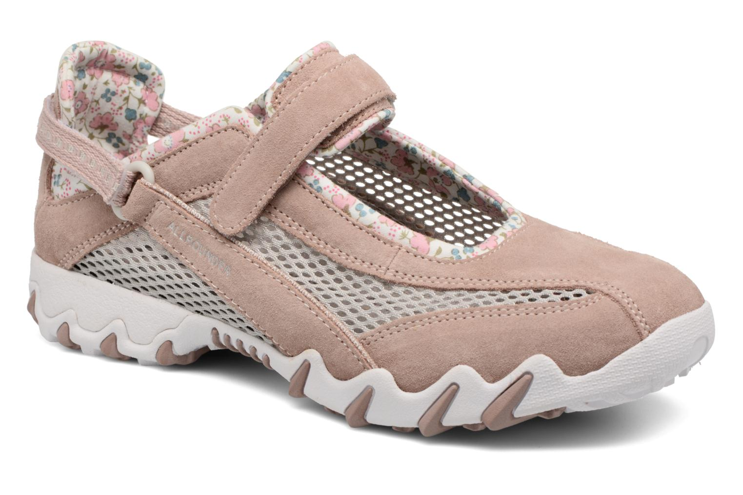 Sport shoes Allrounder by Mephisto Niro Pink detailed view/ Pair view