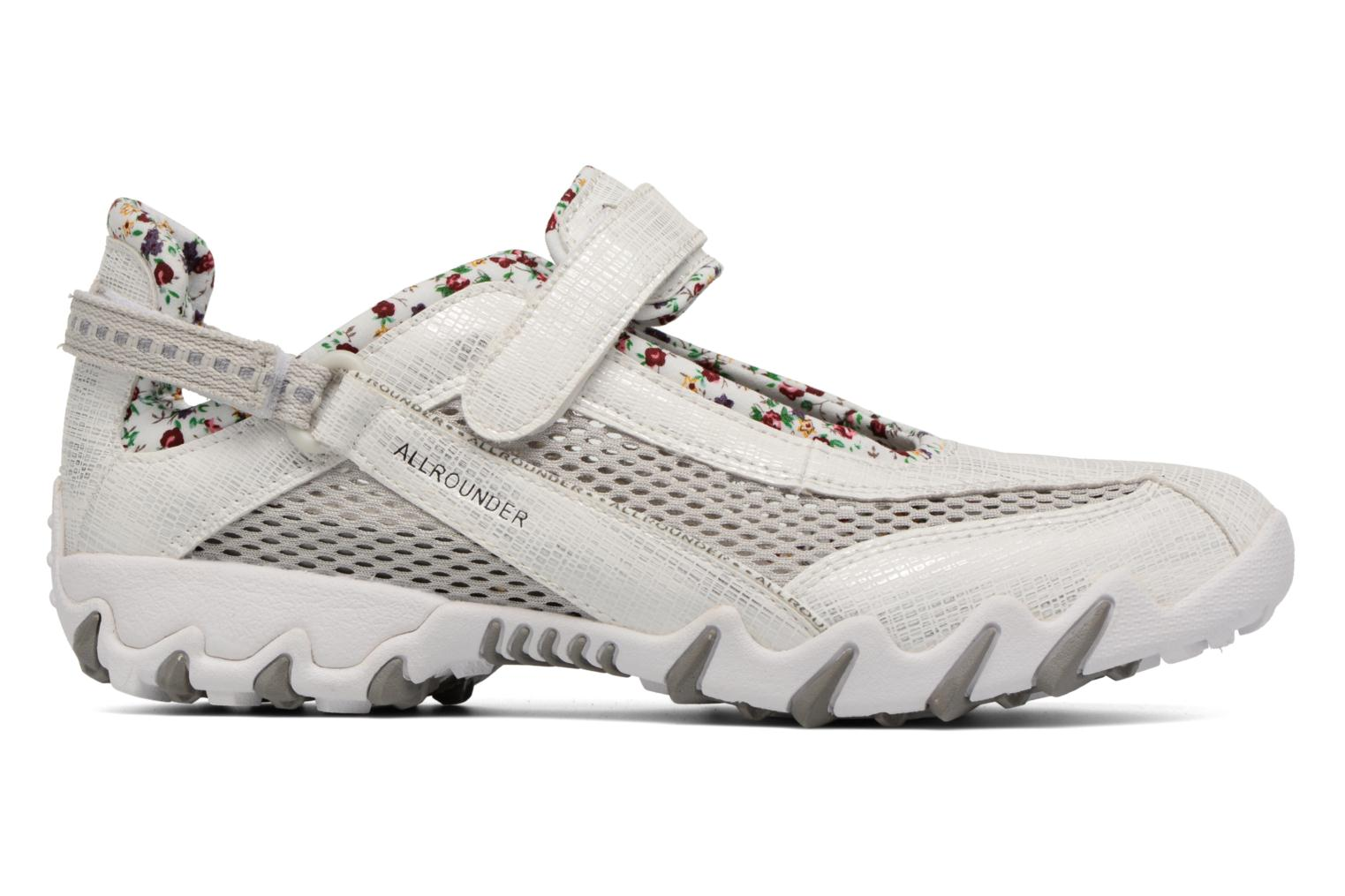 Sport shoes Allrounder by Mephisto Niro White back view
