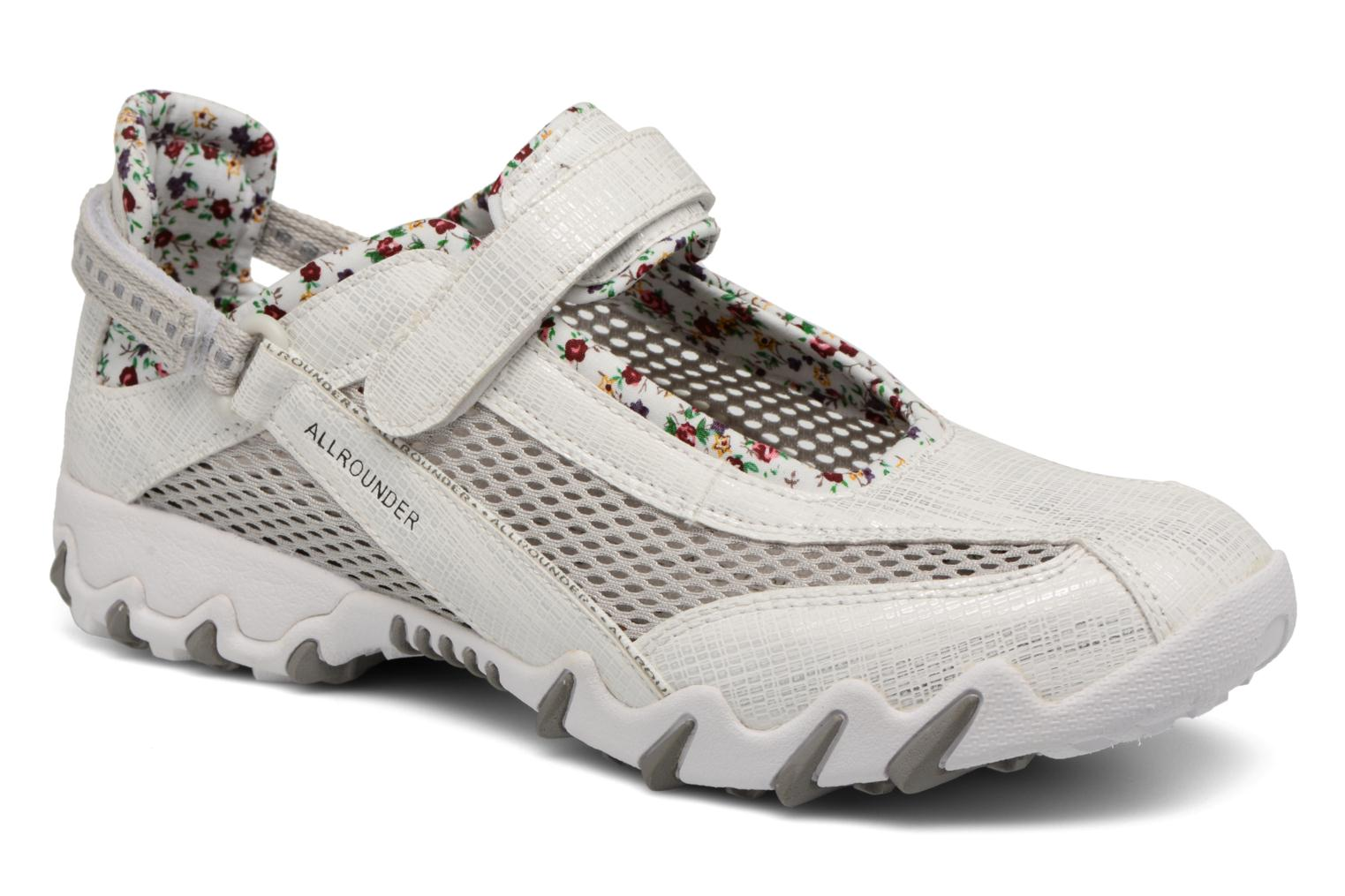 Sport shoes Allrounder by Mephisto Niro White detailed view/ Pair view