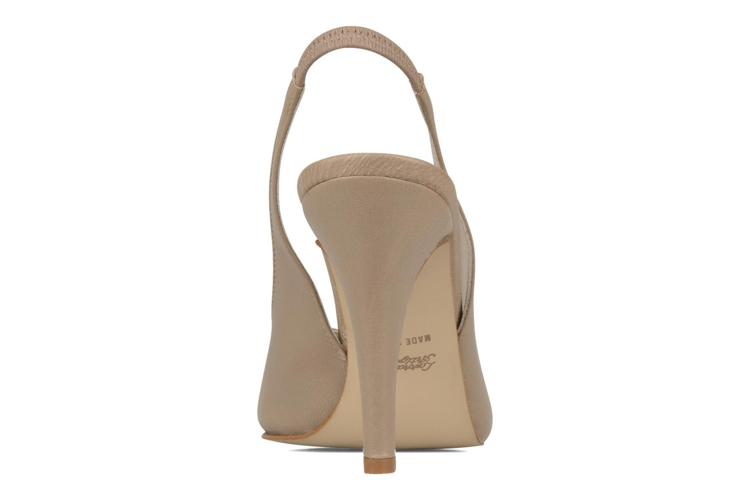 Sandals Georgia Rose Chiata Beige view from the right