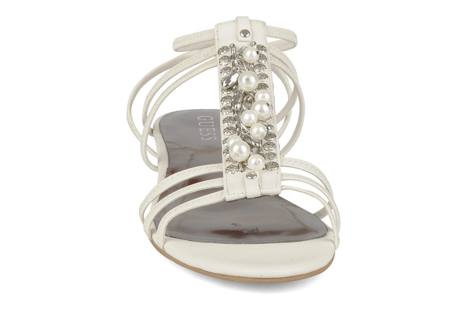 Sandals Guess Trina White model view