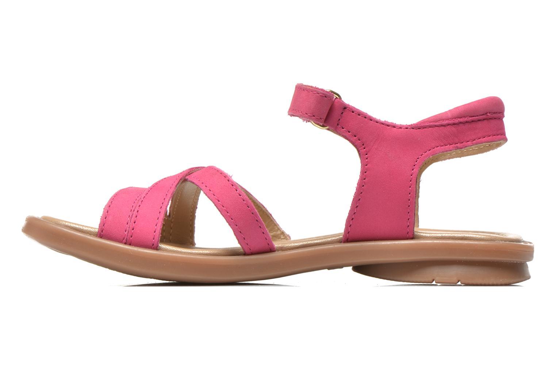 Sandales et nu-pieds Mod8 Jelguy2 Rose vue face