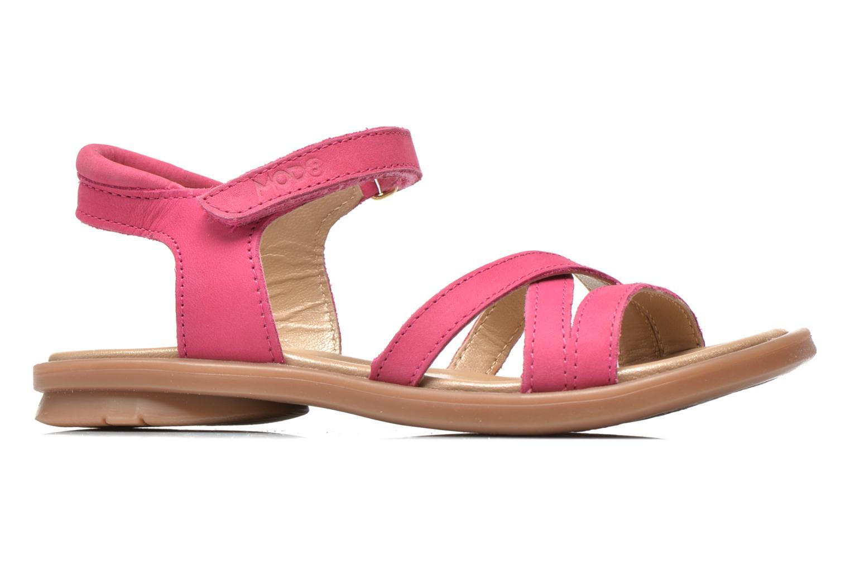 Sandales et nu-pieds Mod8 Jelguy2 Rose vue derrière
