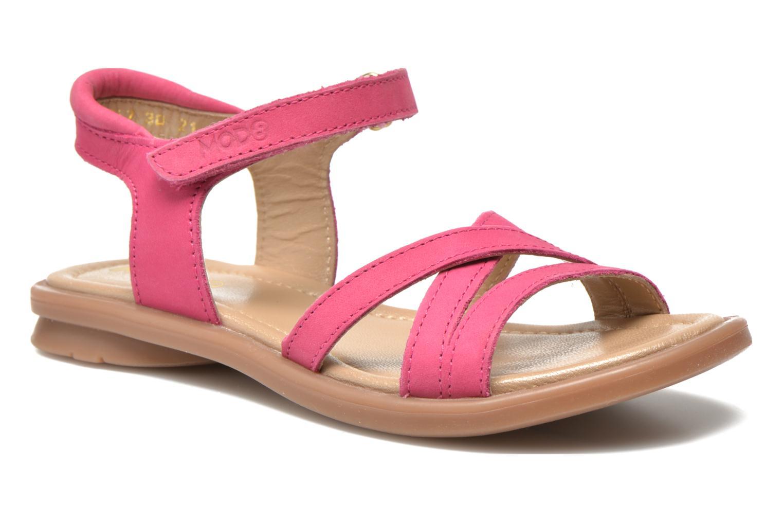 Sandales et nu-pieds Mod8 Jelguy2 Rose vue détail/paire
