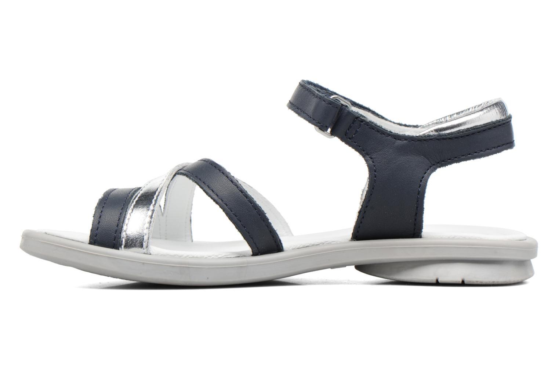 Sandales et nu-pieds Mod8 Jelguy2 Bleu vue face