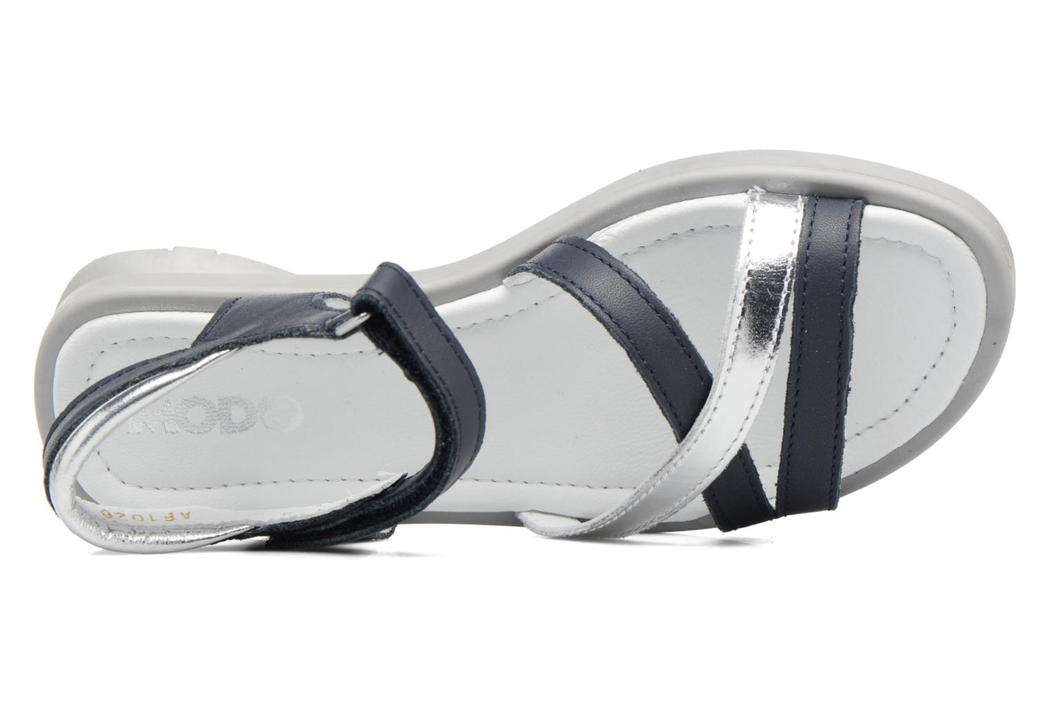 Sandals Mod8 Jelguy2 Blue view from the left