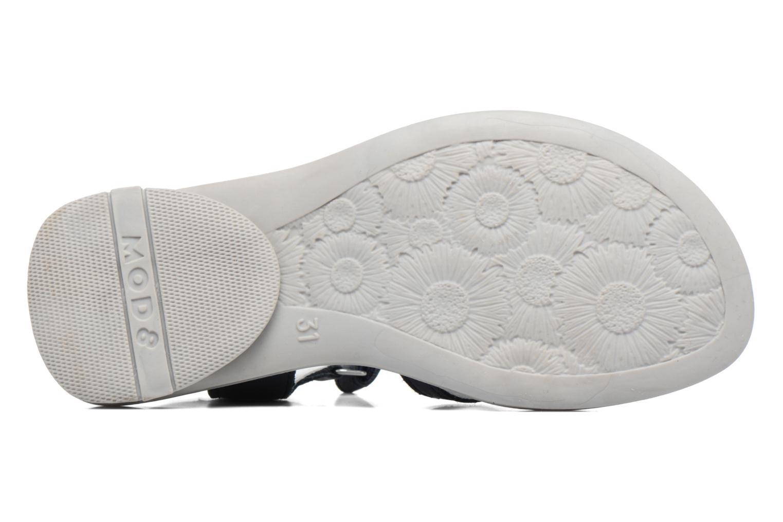 Sandales et nu-pieds Mod8 Jelguy2 Bleu vue haut