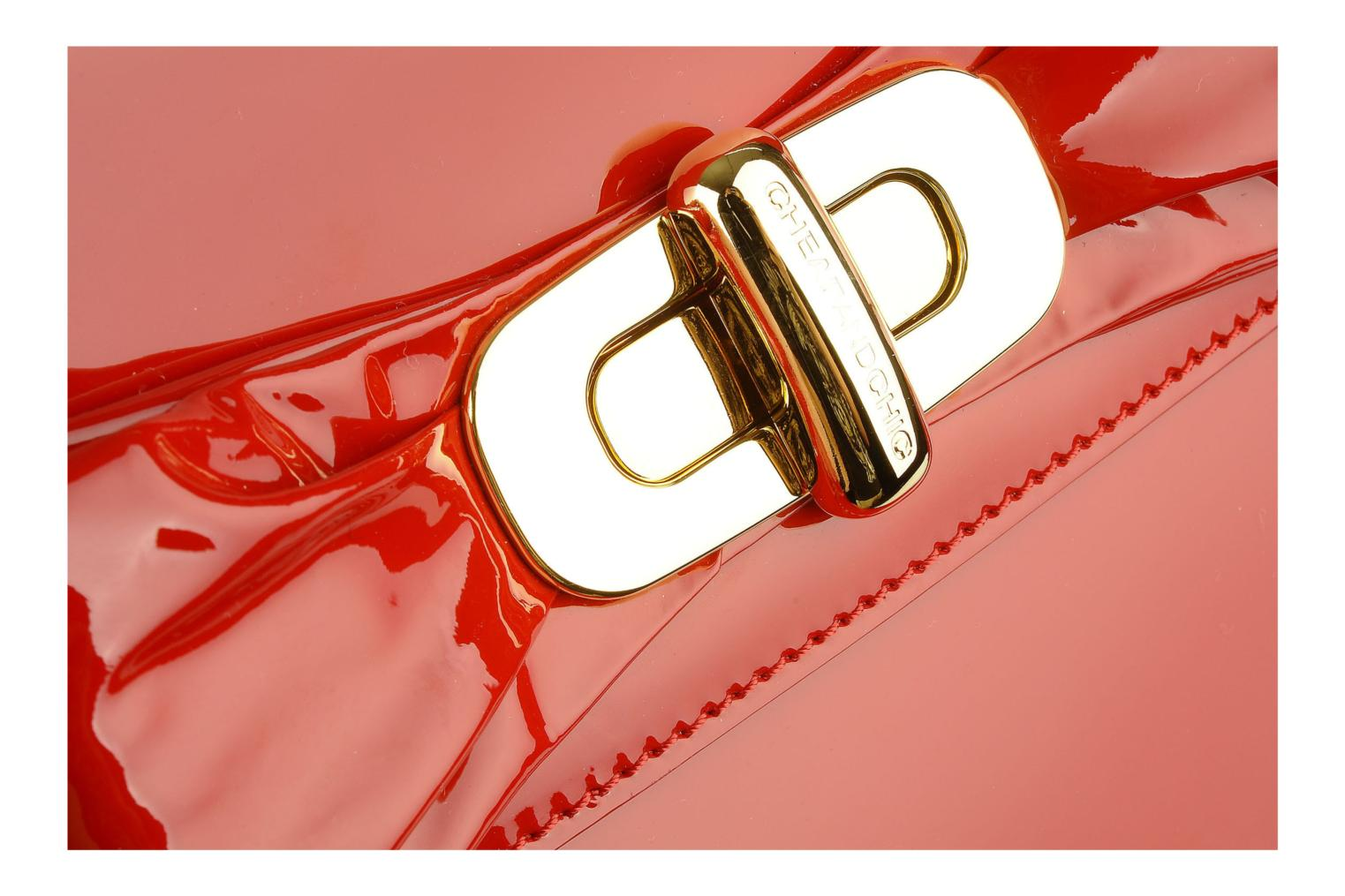 Handbags Moschino Cheap & Chic Spic Red view from the left