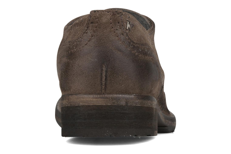 Chaussures à lacets Koah Karl 143 Marron vue droite
