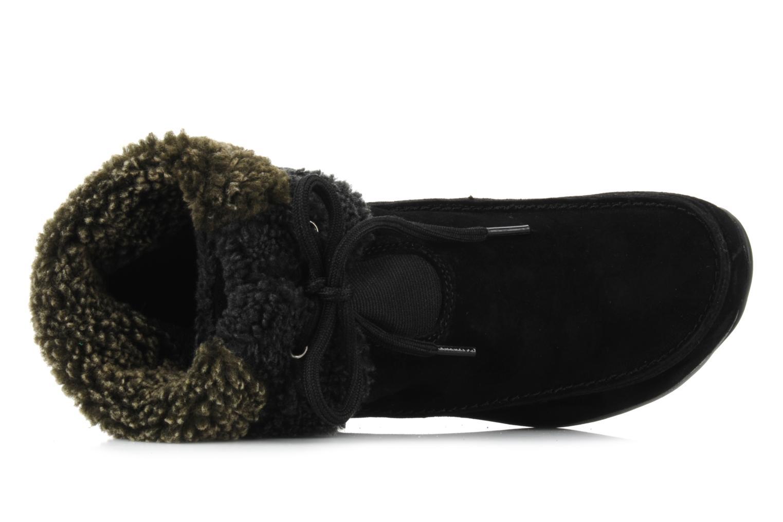 Bottines et boots Hush Puppies Rotate Noir vue gauche