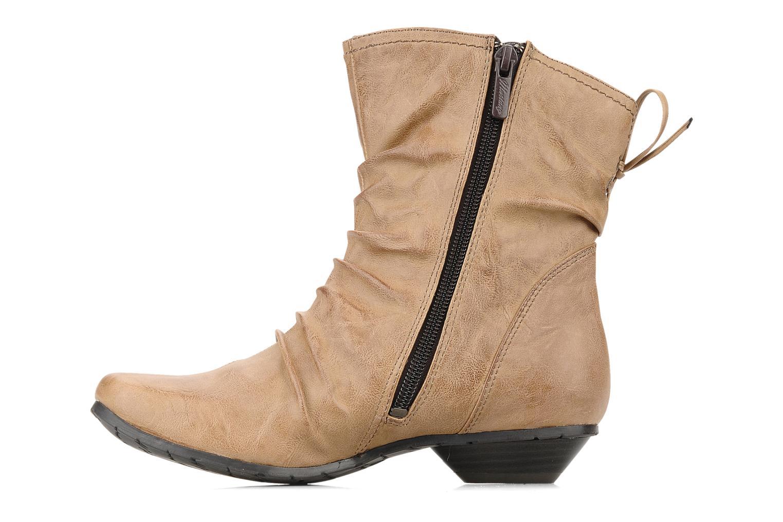 Bottines et boots Mustang shoes Simur Beige vue face