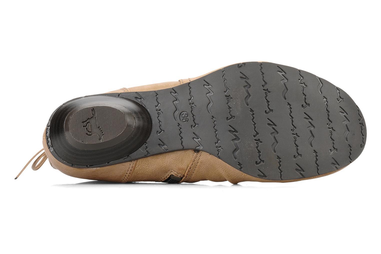 Bottines et boots Mustang shoes Simur Beige vue haut