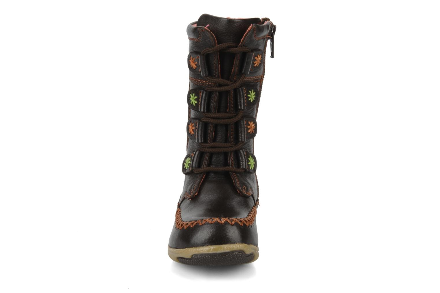 Boots & wellies Hush Puppies Spice Brown model view