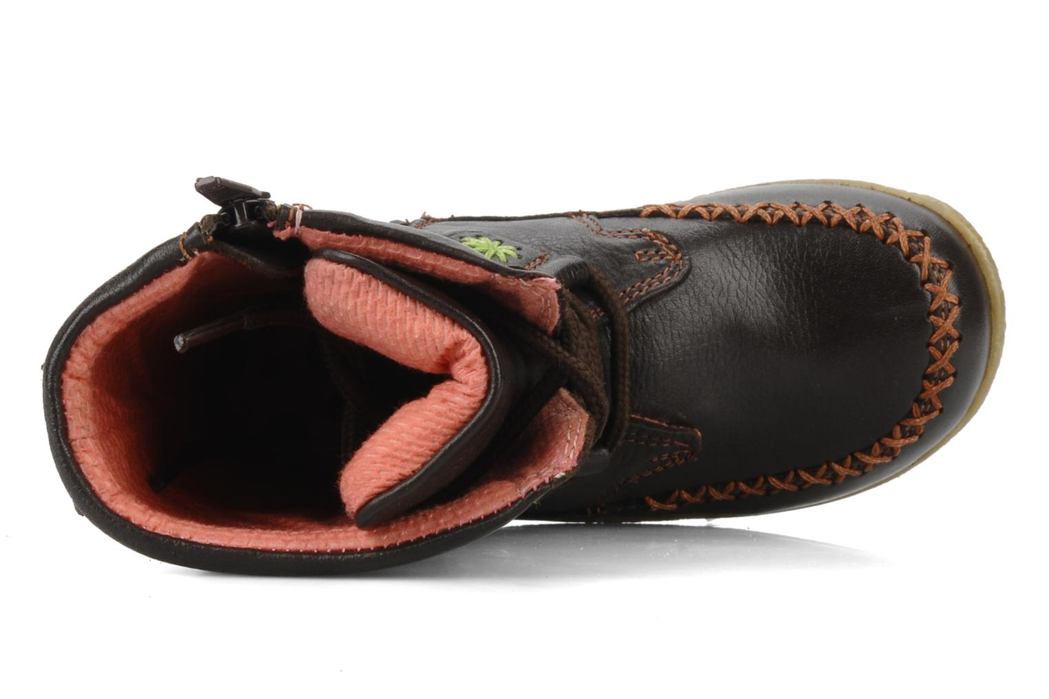 Spice Brown leather