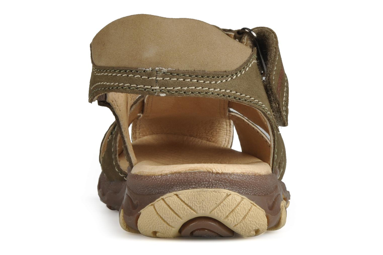 Sandali e scarpe aperte Giesswein Boyzi Verde immagine destra