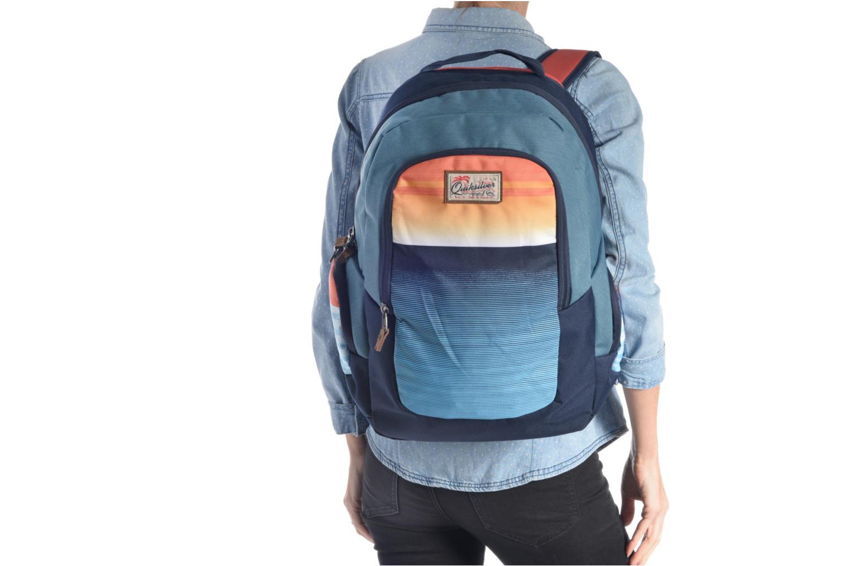 Sacs à dos Quiksilver Schoolie M Backpack Gris vue haut