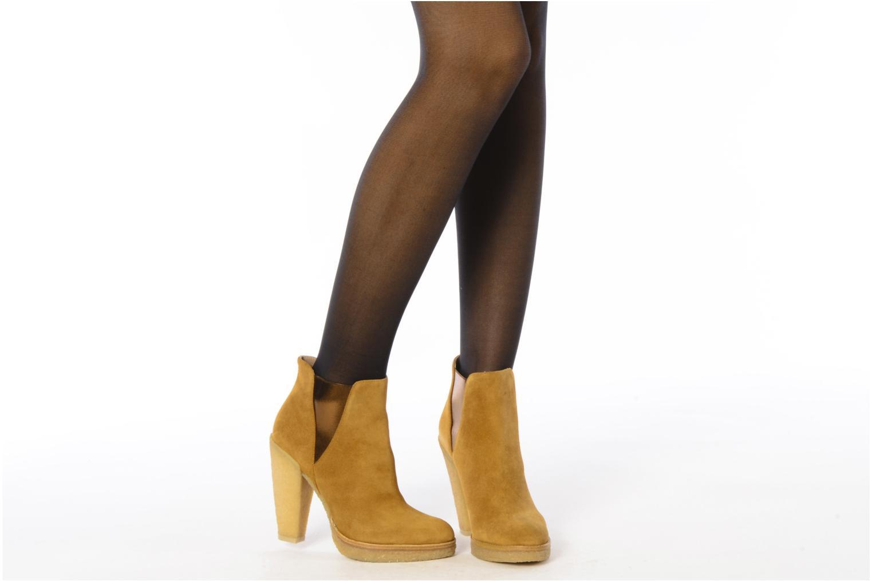 Bottines et boots Belle Tanja Marron vue bas / vue portée sac