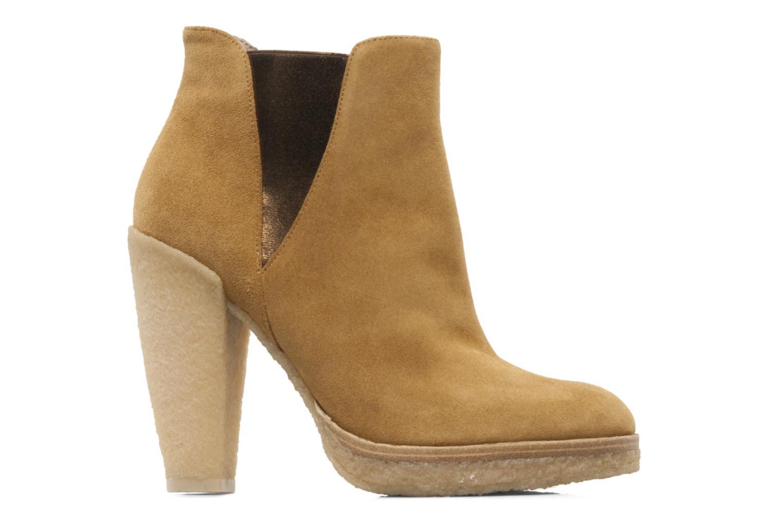 Bottines et boots Belle Tanja Marron vue derrière