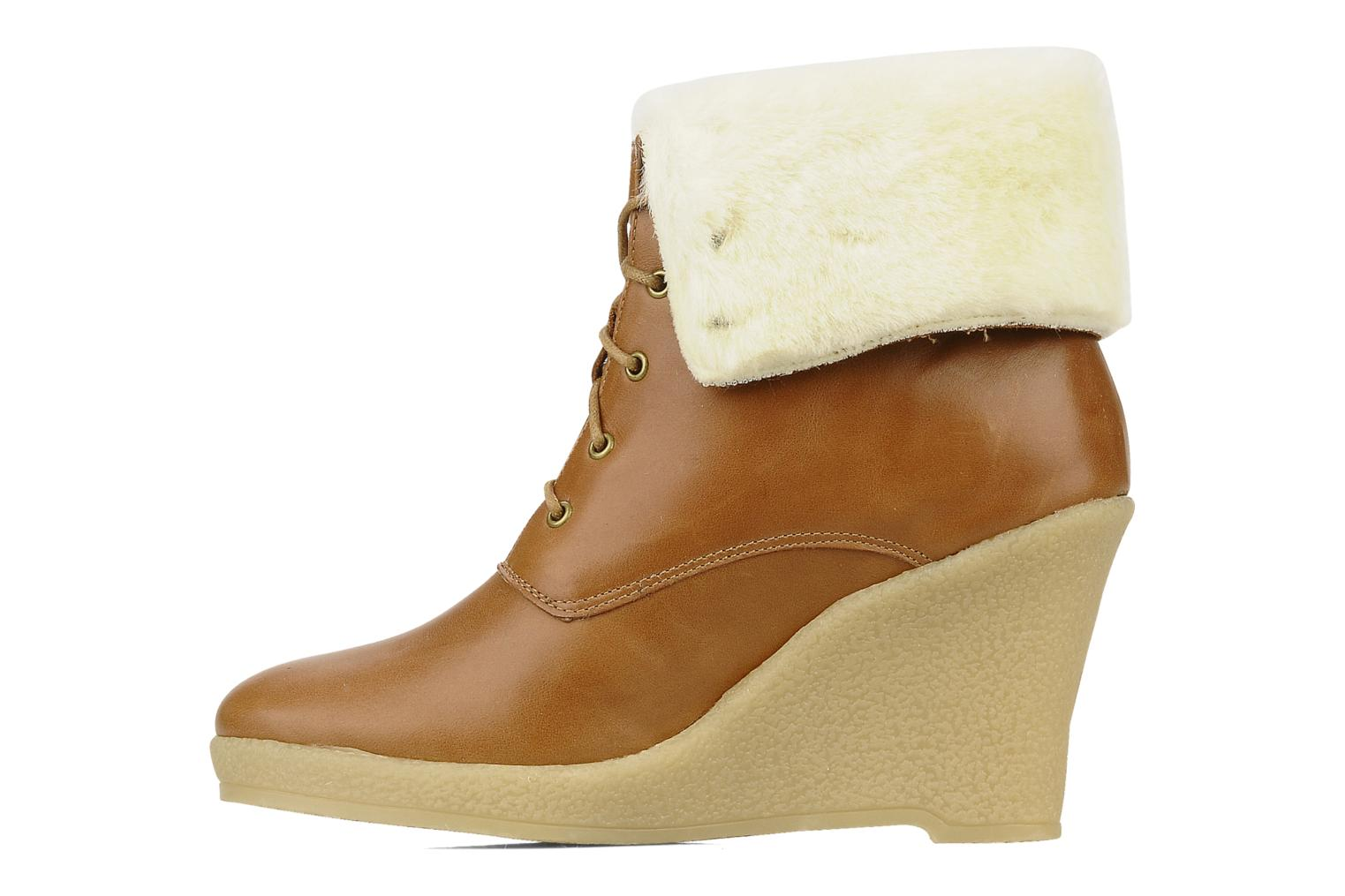 Ankle boots Mellow Yellow Kafka Brown front view