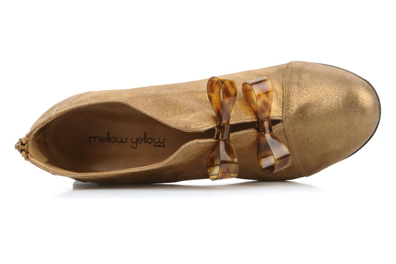 Bottines et boots Mellow Yellow Kanada Or et bronze vue gauche