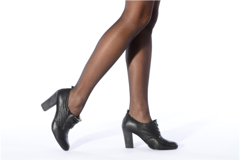 Zapatos con cordones Mellow Yellow Kony Negro vista de abajo