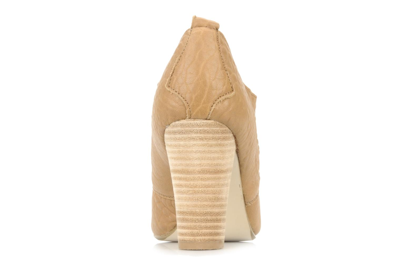 Zapatos con cordones Mellow Yellow Kony Beige vista lateral derecha