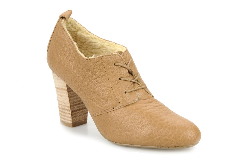 Chaussures à lacets Mellow Yellow Kony Beige vue détail/paire